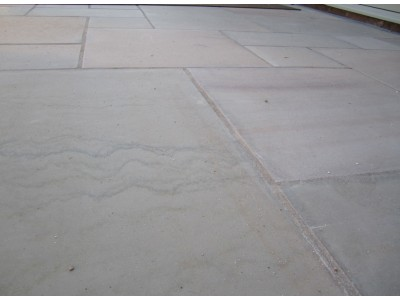 Indian Sandstone Paving - Buff Sawn & Honed - Sample (Refundable)