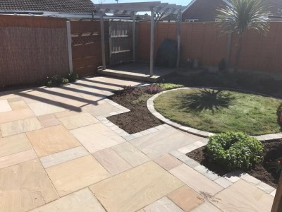 Fellside Indian Stone Paving (Raj Green) - Sample (refundable)