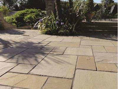 Fellside Indian Stone Paving (Raj Green) - Various Sizes