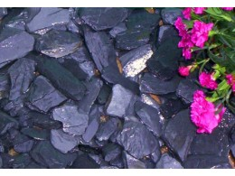 Cumbrian Graphite Slate Chippings 40mm