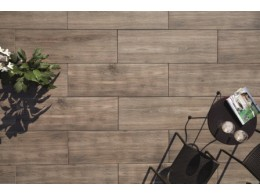 Porcelain Vitrified Paving Walnut
