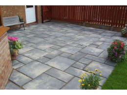 York Stone Paving Slabs (Old Weathered)