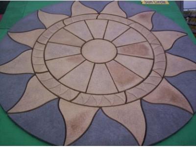 Aztec Sun Circle
