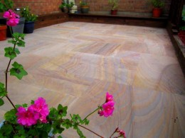 Porcelain Vitrified Paving Rainbow - Sample (Refundable)