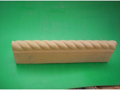 Rope Twist Edge (Double Sided) - Yorkstone