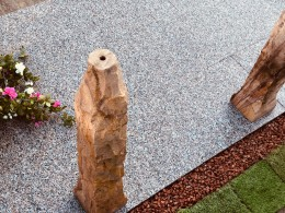 Granite Paving Ruby Red