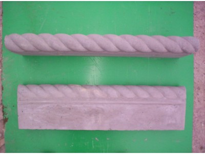 Rope Twist Edge (Double Sided) - Charcoal